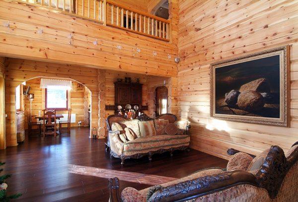 Деревянные дома экологически безопасны