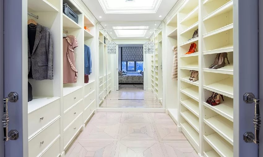 Маленькая гардеробные комнаты дизайн проекты своими руками 657