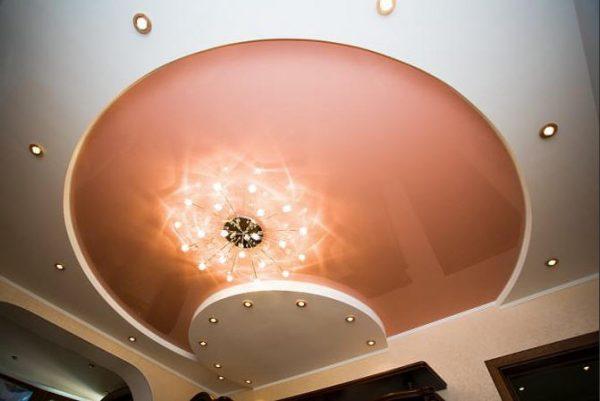 Преимущества натяжных потолоков