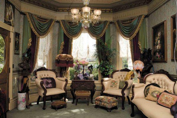 Викторианский стиль в дизайне интерьера