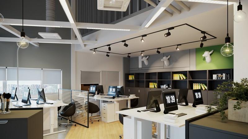 Какое освещение нужно в офисе?