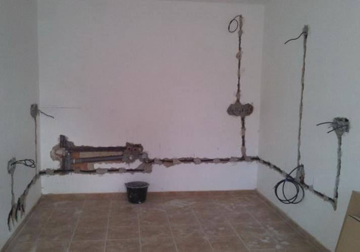 Электрика в ванной