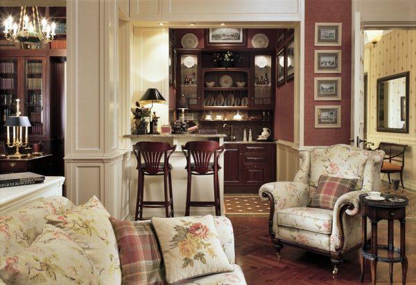 Цвета викторианского стиля в интерьере