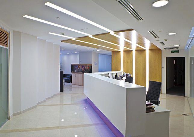 Подбираем освещение в офисное пространство