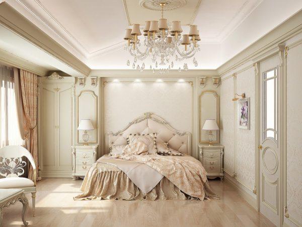 Как обустроить спальню в стиле люкс